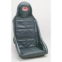 Drag Racing Seats - Jaz Aluminum Drag Race Seats - Jaz Products - Jaz Drag Race Seat Cover Black Vinyl