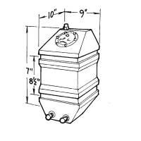 Air & Fuel System - Jaz Products - Jaz 4 Gallon Drag Race Cell