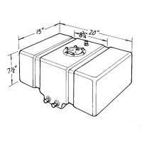 Jaz Fuel Cells - Jaz Drag Race Fuel Cells - Jaz Products - Jaz 8 Gallon Drag Race Cell