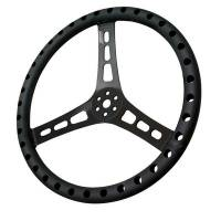 "Steering Wheels - Aluminum Competition Steering Wheels - Joes Racing Products - JOES Aluminum Dished Steering Wheel - 13"" - Black"