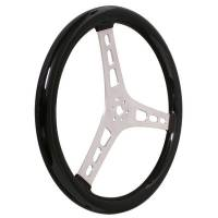 "Steering Wheels - Aluminum Competition Steering Wheels - Joes Racing Products - JOES 13"" Dished Steering Wheel - Black Coated"