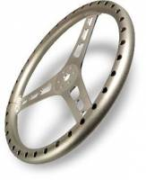 "Joes Racing Products - JOES Lightweight Steering Wheel - Natural - 15"" Flat - Image 2"