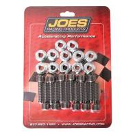 "Karting Parts - Karting Hubs & Bearings - Joes Racing Products - JOES Kart Hub Stud Kit - 1/4""-28 X 1-1/4"" (12 Pack)"