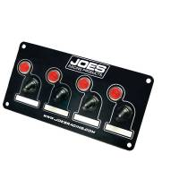 Ignition & Electrical System - Joes Racing Products - Joes Accessory Switch Panel w /4 Switches and Lights
