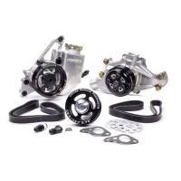 Power Steering Kits - Crate Motor Power Steering Kits - Jones Racing Products - Jones Racing Products Complete Serpentine Drive System - SB Chevy