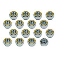 "Wheels and Tire Accessories - Kluhsman Racing Components - Kluhsman Racing Components Single 5/8""-11 Steel Lug Nuts (Heat Treated - Zinc Plated - Reflective Yellow) - (20 Pack)"
