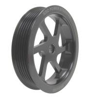 "Power Steering Pulleys - Serpentine Power Steering Pulleys - KRC Power Steering - KRC Power Steering Pump Pulley - 4.2"" Serpentine"