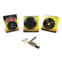 Power Steering Pulleys - Serpentine Power Steering Pulleys - KRC Power Steering - KRC Pro Series Serpentine Pulley Kit 30% Water Pump Reduction - SB Chevy