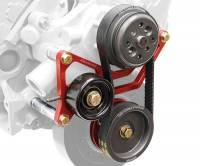 KRC Power Steering - KRC Chevrolet 1 TO 1 Pro Series Watert Pump Only Drive Kit with Idler Tensioner - Image 2
