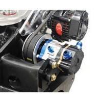 KRC Power Steering - KRC Bellhousing Mounted Alternator Braket Kit for KSE Steering Pump Drive