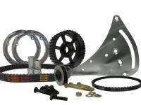 KRC Power Steering - KRC Bellhousing Mounted Alternator Braket Kit for KSE Steering Pump Drive - Image 3