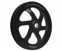 "KRC Power Steering - KRC 6.0"" V-Belt Power Steering Pump Pulley - GM Offset - (For KRC Cast Iron Pumps Only) - Image 2"