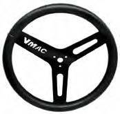 "King Racing Products - King Big Tube Aluminum Steering Wheel (Black) - 15"" Diameter - Image 2"