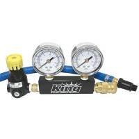 Engine Tools - Leakdown Testers - King Racing Products - King Dual Gauge Leakdown Tester