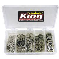"Sprint Car & Open Wheel - King Racing Products - King .060"" Stainless Washer Kit"