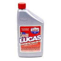 Lucas Racing Oil - Lucas Synthetic High Mileage Motor Oil - Lucas Oil Products - Lucas Synthetic High Performance Motor Oil - 0W-30 - 1 Quart