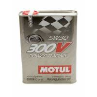 Motul - Motul 300V Power Racing 5W30 Synthetic Oil - 2 Liters