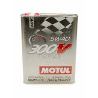 Motul - Motul 300V Power 5W40 Synthetic Racing Oil - 2 Liters