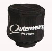 """Outerwears Performance Products - Outerwears Breather Pre-Filter w/ Top - Black - 3-1/2"""" Diameter x 6"""" Tall - Image 2"""