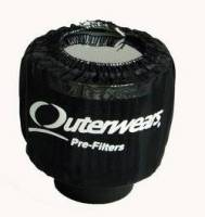 "Outerwears Performance Products - Outerwears 3"" Shielded Crank Breather Pre-Filter w/o Top - Black - Image 2"
