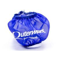 "Outerwears Performance Products - Outerwears 3"" Shielded Crank Breather Pre-Filter w/o Top - Blue - Image 1"