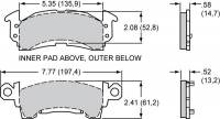 Performance Friction - Performance Friction Brake Pads - Full Size GM - 13 Compound - Image 2