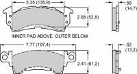 PFC Brakes - PFC Brakes Brake Pads - Full Size GM - 13 Compound - Image 2