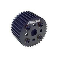 "Water Pump Pulleys - HTD Water Pump Pulleys - Peterson Fluid Systems - Peterson HTD Water Pump Pulley - 37 Tooth - 5/8""-3/4"" Bore 2"" Wide"