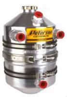 Peterson Fluid Systems - Peterson 3 Gallon Dual Scavenge Inlet Dry Sump Oil Tank - Image 2