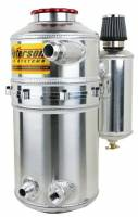 """Peterson Fluid Systems - Peterson 7"""" Drag Race Dry Sump Oil Tank - Single Return w/Catch Can - Image 3"""