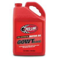Red Line Racing Oil - Red Line Racing Motor Oil - Red Line Synthetic Oil - Red Line 60WT Drag Race Oil (20W60) - 1 Gallon