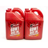 Red Line Racing Oil - Red Line Racing Motor Oil - Red Line Synthetic Oil - Red Line 60WT Drag Race Oil (20W60) - Case of 4 - 1 Gallonlon