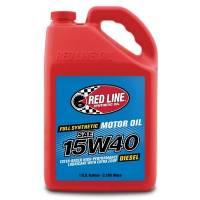 Red Line Synthetic Oil - Red Line 15W40 Diesel Motor Oil-1 Gallonlon