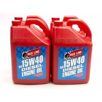 Red Line Synthetic Oil - Red Line 15W40 Diesel Motor Oil - Case of 4 - 1 Gallonlon