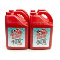 Two-Stroke Oil - Red Line Two Stroke Racing Oil - Red Line Synthetic Oil - Red Line All Sport Two-Stroke Oil -1 Gallon (Case of 4)