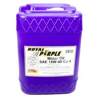 Royal Purple Racing Oil - Royal Purple® High Performance Motor Oil - Royal Purple - Royal Purple® High Performance Motor Oil - SAE 15W40 - 5 Gallon Pail