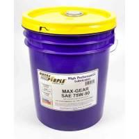 Gear Oil - Royal Purple Max Gear® High Performance 75W-90 Gear Oil - Royal Purple - Royal Purple® Max Gear® Gear Oil - 75W90 - 5 Gallon Pail