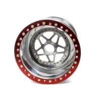 """Sander Engineering - Sander 15"""" x 15"""" Splined Aluminum Wheel - Inside Beadlock #1 - 6"""" Back Spacing - Image 2"""