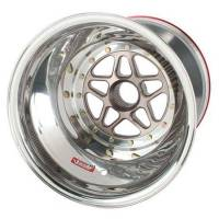 """Sander Engineering - Sander 15"""" x 15"""" Splined Aluminum Wheel - Inside Beadlock #1 - 6"""" Back Spacing - Image 3"""