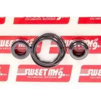 Steering System Gaskets and Seals - Power Steering Seals - Sweet Manufacturing - Sweet Pro Dual Pull Cylinder Seal Kit