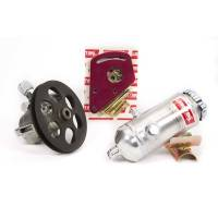 Power Steering Pumps - Steel Power Steering Pumps - Sweet Manufacturing - Sweet Power Steering Kit with Steel Pump Block Mnt