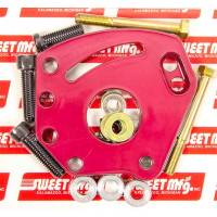 Power Steering Pump Brackets - Head Mount Brackets - Sweet Manufacturing - Sweet Power Steering Pump Bracket - SB Chevy - Head Mount