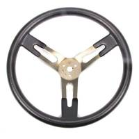 "Competition Steering Wheels - Aluminum - 17"" Aluminum Steering Wheels - Sweet Manufacturing - Sweet 17"" Dished Aluminum Steering Wheel"