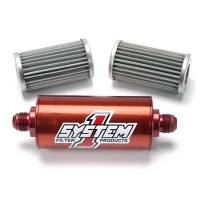 System 1 - System 1 Engine Inline Fuel FIlter - #8 Billet - Image 3