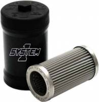 System 1 - System 1 Filtration Billet Fuel Filter - 10-Micron No Bypass - EFI Pro Modified - Image 2