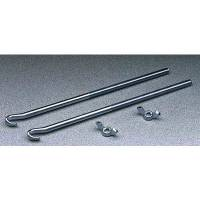 """Battery - Battery Boxes & Mounts - Bolt-In - Taylor Cable Products - Taylor J Battery Hold Down Bolt 3/8"""" x 10"""""""