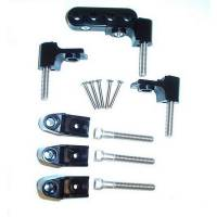 Taylor Cable Products - Taylor Spark Plug Wire Separator Brackets - Horizontal, Black(SB Chevy, Chrysler) - Image 1