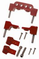 Taylor Cable Products - Taylor Spark Plug Wire Separator Bracket - Horizontal, Red (SB Chevy, Chrysler) - Image 2
