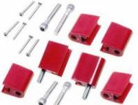 Taylor Cable Products - Taylor Spark Plug Wire Separator Bracket - Vertical, Red (BB Chevy, Ford) - Image 3