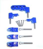 Taylor Cable Products - Taylor Spark Plug Wire Separator Bracket - Horizontal, Blue (SB Chevy, Chrysler) - Image 2